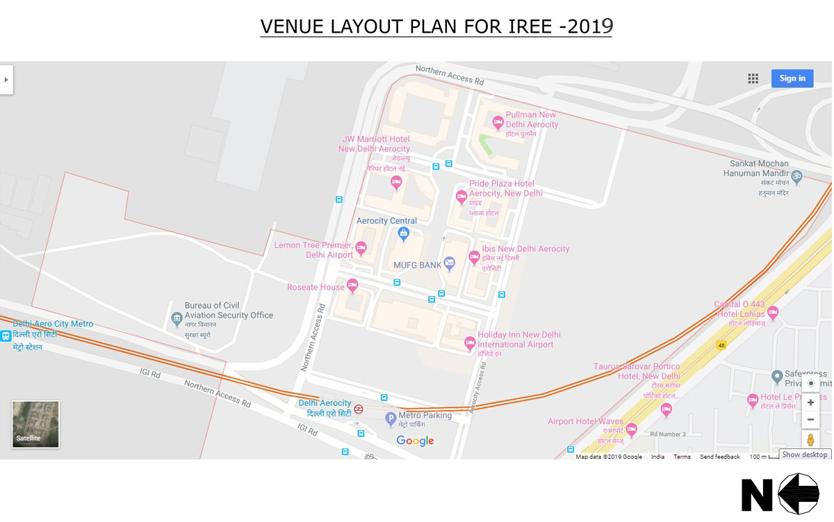 Welcome To Cii Power Plant Layout Planning Iree 2017 Venue Plan